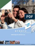 Städte & Touren Geheimtipps für die Sinne 2012