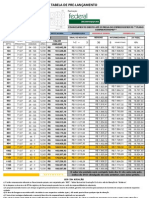 Tabela Matriz - Nazareno Roriz - AGOSTO 2011