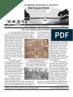 Winter 2011 Newsletter - North Berrien Historical Society