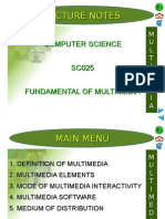 5.0 Fundamental of Multimedia