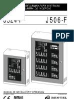 Bentel J506 524 Espanol Manual