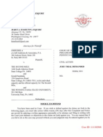 Sandusky Civil Complaint