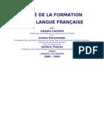 Traité de la formation de la langue française_Hatzfeld & Darmesteter