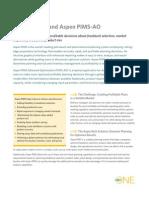Aspen PIMS Brochure
