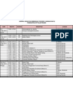2011 Jadwal Kegiatan Bimtek Ae-KTP