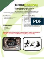 Eg Dc Kswap Mount Kit Install Guide