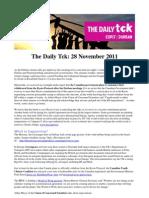 COP17 Daily Tck 1 28/Nov