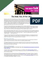 COP17 Daily Tck 2 29/Nov