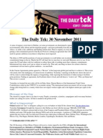 COP17 Daily Tck 3 30/Nov