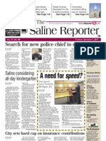The Saline Reporter Front Page