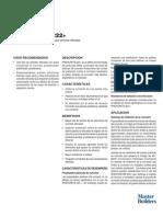 Trabajo de Investigacion sobre aditivo RHEOCRETE® 222