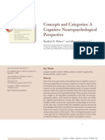 Concepts and Categories a Cognitive Neuropsychological Perspective