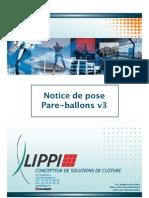 Notice_pose Filet Pare Ballon