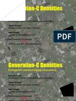 Presentation to Conference Densities