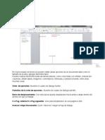 Entorno Del Editor de Textos