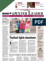 Dexter Leader Front Page Dec. 1