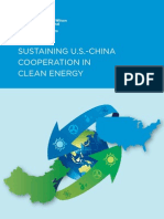 Sustaining U.S.-China Cooperation in Clean Energy (Cover, Table of Contents, Intro)
