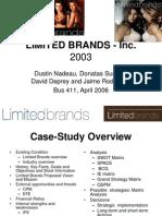 Limited Brands Presentation
