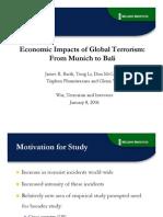 Econ Impact Terrorism Slides