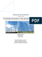 Hammond Pearce Challenges to Renewables in a More Abundant Natural Gas World.012110.Ppt[1]