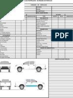 Check List Vehiculo Pasajeros