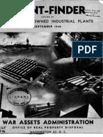 War Assets Report 1