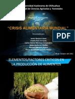 Crisis Aliment Aria Mundial