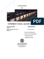 Cinergy Coal Allocation