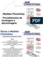 (6)Procedimentos de Montagem Torre Elevador