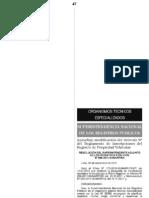 MODIFICAN EL ARTÍCULO 9 DEL REGLAMENTO DE INSCRIPCIONES DEL REGISTRO DE PROPIEDAD VEHICULAR