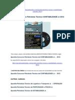 Apostila Petrobrás Técnico de CONTABILIDADE Jr. Concurso 2012