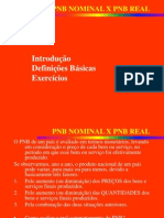 Pnb Nominal x Pnb Real