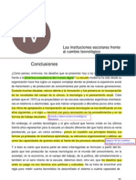 Dussel-Conclusiones 1 Las Instituciones EscolaresTrabajo