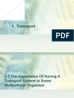 1.1 the Importance of Having a Transport System