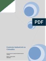 Contexto Industrial en Colombia