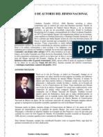 Biografias de Autores Del Himno Nacional