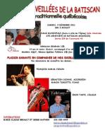 Affiche Soirée de Danse Batiscan 3 décembre 2011