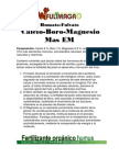 Fulvato-humato de Calcio Boro Magnesio