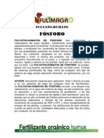 Fulvato-humato de Fosforo