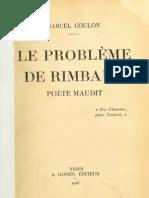 Le Probleme de Rimbaud