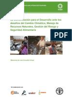 La Comunicación para el Desarrollo ante los cambios climaticos