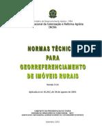 Norma Georreferenciamento INCRA