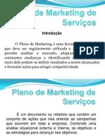 Plano de Marketing de Serviços