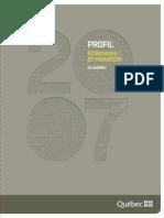 Profil économique et financier du Qbc