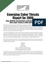 Cyber Threats Report 2009