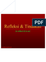 refleksi & tindakan