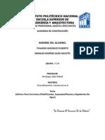 Trabajo de Aditivos Para Concretos Proce II