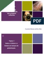 Gestao e Politicas Culturais MCZ Claudia Leitao