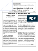Alaska; Best Management Practices for Rainwater Catchment Systems in Alaska - Cold Climate Housing Reseach Center