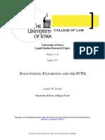 Soli Ti Citation, Extortion, FCPA